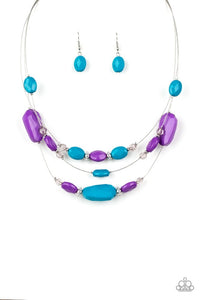 Paparazzi Jewelry Necklace Radiant Reflections - Multi