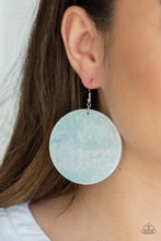 Load image into Gallery viewer, Paparazzi Jewelry Earrings SEA Where It Goes - Green