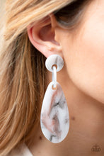Load image into Gallery viewer, Paparazzi Jewelry Earrings A HAUTE Commodity - Silver