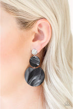 Load image into Gallery viewer, Paparazzi Jewelry Earrings Miami Mariner Black