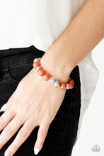 Load image into Gallery viewer, Paparazzi Jewelry Bracelet Very VIP - Orange