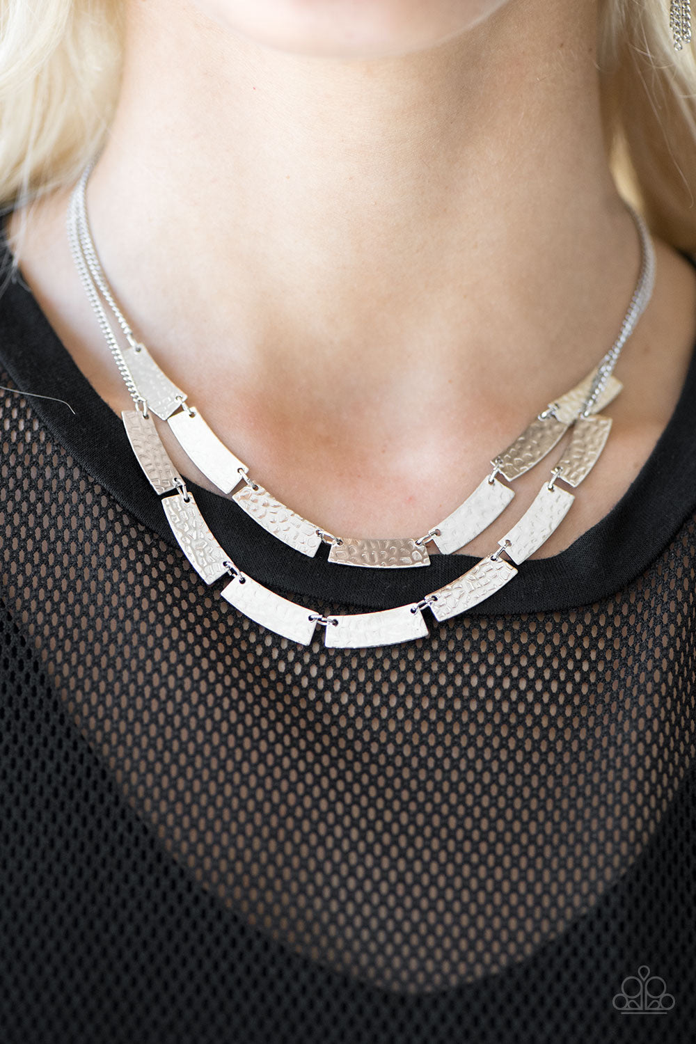 Paparazzi Jewelry Necklace Call Me Cleopatra - Silver