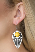 Load image into Gallery viewer, Paparazzi Jewelry Earrings Take A WALKABOUT - Yellow