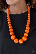 Load image into Gallery viewer, Paparazzi Jewelry Wooden Effortlessly Everglades - Orange
