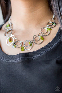 Paparazzi Jewelry Sets A Hot SHELL-er/Total SHELL-Out - Green
