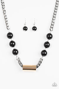 Paparazzi Jewelry Necklace All About Attitude - Multi