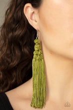 Load image into Gallery viewer, Paparazzi Jewelry Earrings Magic Carpet Ride - Green