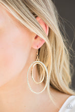 Load image into Gallery viewer, Paparazzi Jewelry Earrings Wrapped In Wealth - Gold