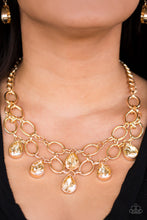 Load image into Gallery viewer, Paparazzi Jewelry Necklace Show-Stopping Shimmer - Gold