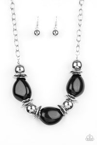 Paparazzi Jewelry Necklace Vivid Vibes - Black
