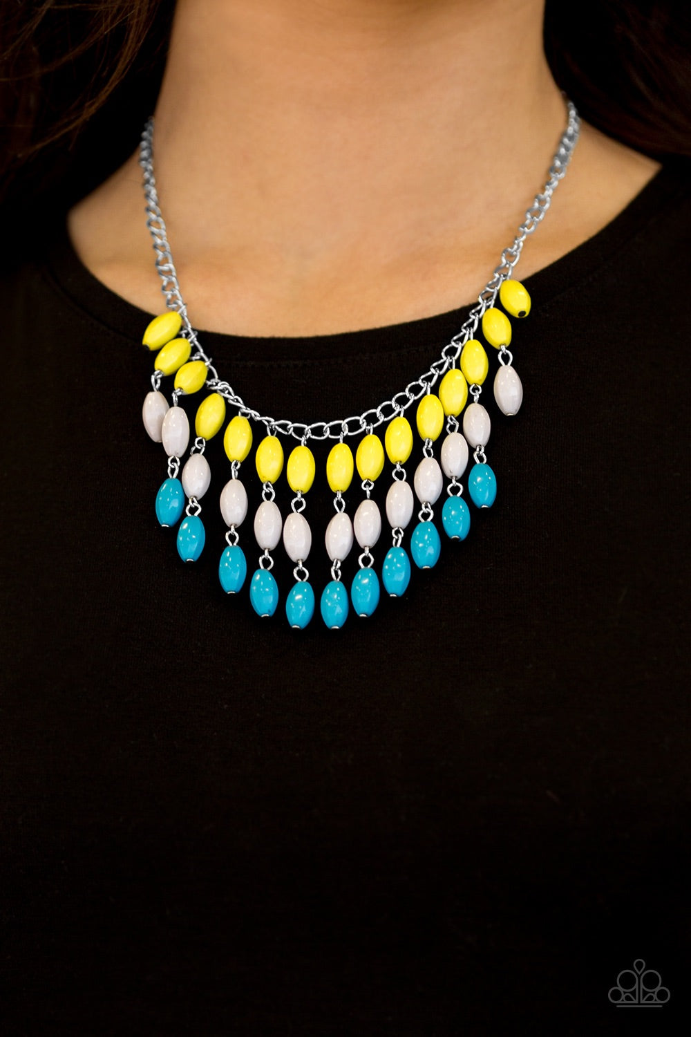 Paparazzi Jewelry Necklace Delhi Diva - Multi