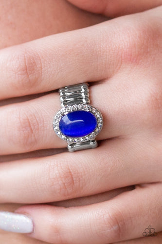 Paparazzi Jewelry Ring Laguna Luxury Blue