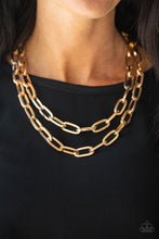 Load image into Gallery viewer, Paparazzi Jewelry Necklace Make A CHAINge - Gold