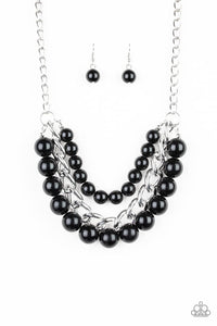 Paparazzi Jewelry Necklace Empire State Empress - Black