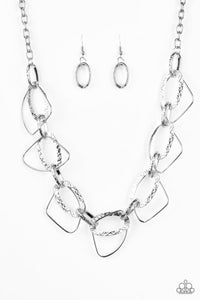 Paparazzi Jewelry Necklace Very Avant-Garde - Silver