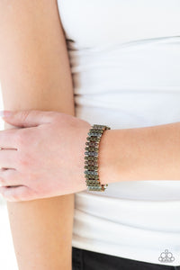 Paparazzi Jewelry Bracelet Rise With The Sun - Multi