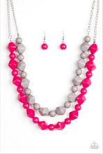Load image into Gallery viewer, Paparazzi Jewelry Necklace Rio Rhythm - Pink