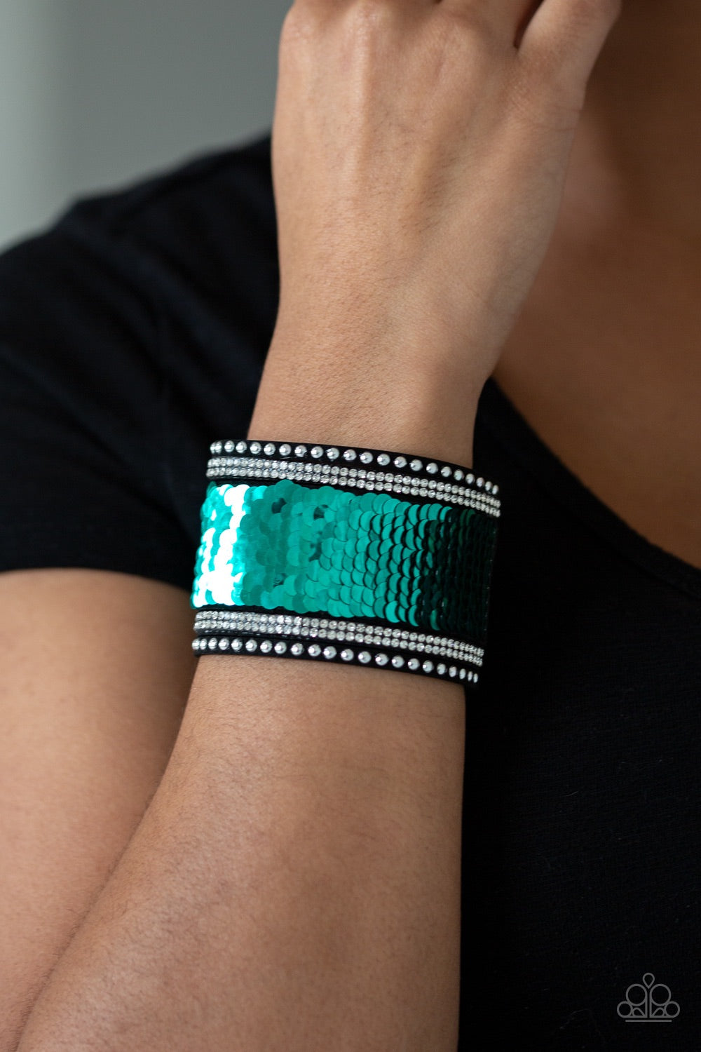 Paparazzi Jewelry Bracelet MERMAIDS Have More Fun - Green