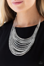 Load image into Gallery viewer, Paparazzi Jewelry Necklace Catwalk Queen - Silver