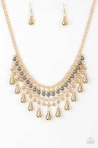 Paparazzi Jewelry Necklace Dont Forget To BOSS! - Gold