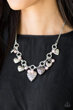 Load image into Gallery viewer, Paparazzi Jewelry Necklace Totally Twitterpated - Pink