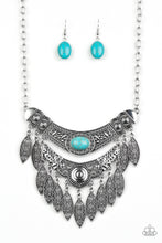 Load image into Gallery viewer, Paparazzi Jewelry Necklace Island Queen - Blue