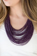 Load image into Gallery viewer, Paparazzi Jewelry Necklace Ice Storm - Purple