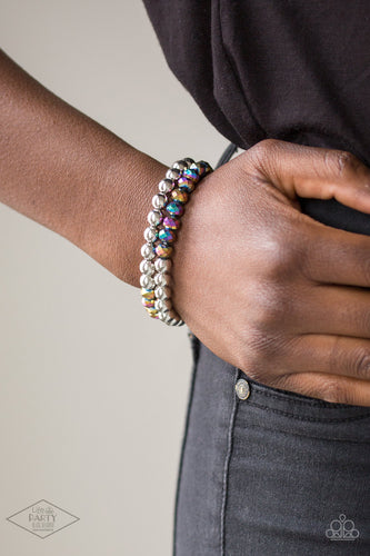 Paparazzi Jewelry Bracelet Chroma Color - Multi