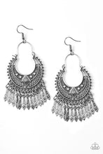 Load image into Gallery viewer, Paparazzi Jewelry Earrings Walk On The Wildside - Silver