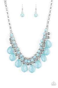 Paparazzi Jewelry Necklace Trending Tropicana - Blue