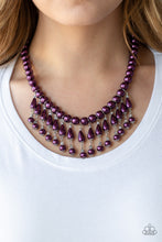 Load image into Gallery viewer, Paparazzi Jewelry Necklace Miss Majestic - Purple