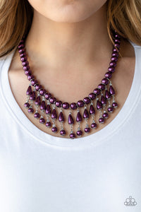 Paparazzi Jewelry Necklace Miss Majestic - Purple