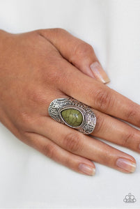 Paparazzi Jewelry Ring Southern Sage - Green
