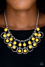 Load image into Gallery viewer, Paparazzi Jewelry Necklace Really Rococo - Yellow