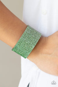 Paparazzi Jewelry Bracelet Fade Out - Green