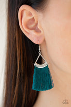 Load image into Gallery viewer, Paparazzi Jewelry Earrings Tassel Tuesdays - Blue