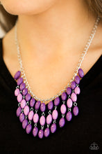 Load image into Gallery viewer, Paparazzi Jewelry Necklace Delhi Diva - Purple