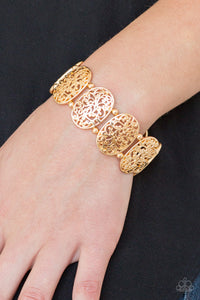 Paparazzi Jewelry Bracelet Everyday Elegance - Gold