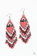Load image into Gallery viewer, Paparazzi Jewelry Earrings Colors Of The Wind - Orange