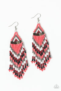 Paparazzi Jewelry Earrings Colors Of The Wind - Orange