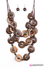 Load image into Gallery viewer, Paparazzi Jewelry Wooden Bahama Bliss - Brown