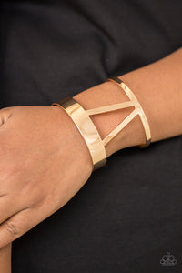 Paparazzi Jewelry Bracelet Rural Ruler - Gold