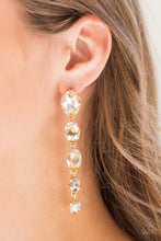 Load image into Gallery viewer, Paparazzi Jewelry Earrings Red Carpet Radiance - Gold