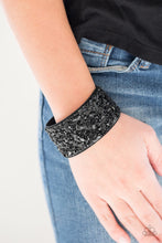 Load image into Gallery viewer, Paparazzi Jewelry Bracelet Crush Rush - Black