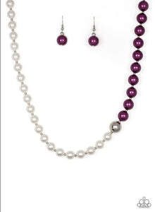 Paparazzi Jewelry Necklace 5th Avenue A-Lister - Purple