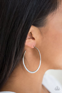Paparazzi Jewelry Earrings So Seren-DIP-itous - White