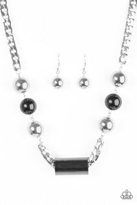 Paparazzi Jewelry Necklace All About Attitude - Silver