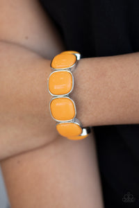 Paparazzi Jewelry Bracelet Vivacious Volume - Orange