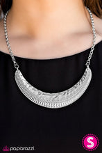 Load image into Gallery viewer, Paparazzi Jewelry Necklace STEER Clear - Silver