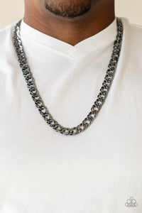 Paparazzi Jewelry Men Undefeated - Black